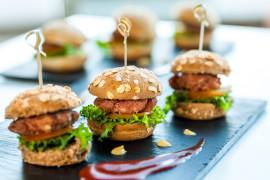 WEGE burgery z kuskusowym kotletem
