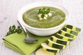 Zupa z cukinii bez kropli tłuszczu!