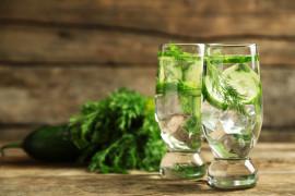 WYZWANIE H2O: woda odświeżająca z koperkiem