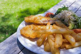 Brytyjskie FISH & CHIPS