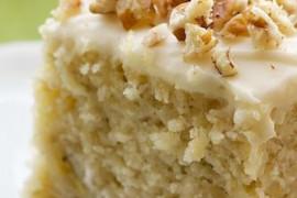 Ciasto BANANOWE z polewą