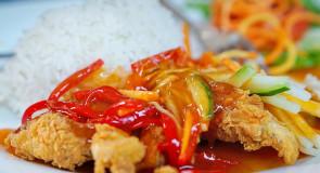 Kurczak w sosie chili po TAJSKU