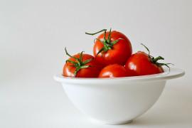Soczyste pomidory w śmietanie