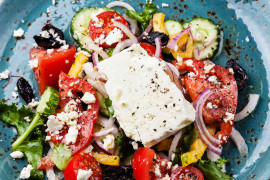 #tydzieńSAŁATKOWY – sałatka z warzyw i sera feta