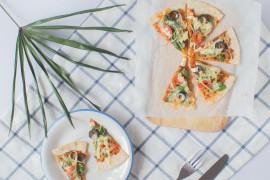 Ciasto bezglutenowe (z mąki gryczanej) na pizzę