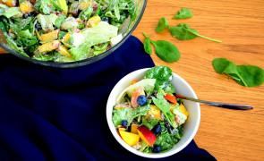 Sałatka owocowo-warzywna