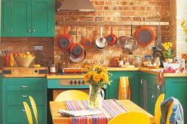 8 pomysłów na KOLORY w kuchnii