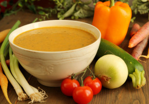Kremowa zupa z warzyw