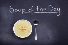 Rozgrzewająca zupa z ziemniakami i imbirem