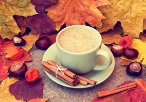 Jesienna kawa zbożowa z przyprawami