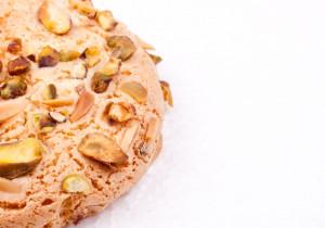 Kruche ciasteczka z prażonymi pistacjami