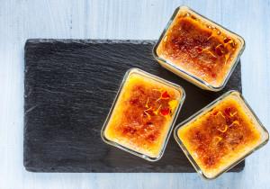 Puszysty suflet o smaku pmarańczowym