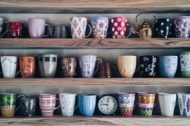 11 ciekawych sposobów na przechowywanie KUBKÓW i FILIŻANEK