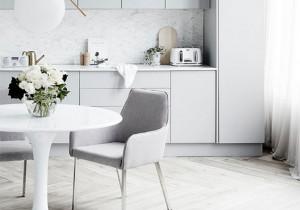 10 pięknych kuchni w bieli