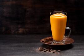 Koktajl mandarynkowy z miodem