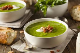 Zupa krem z brokuła i gruszki