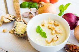 Zupa krem z cebuli i ziemniaków