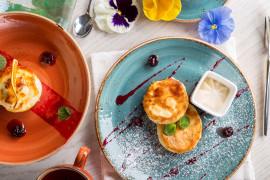 Śniadaniowe placuszki serowe