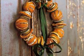 10 świątecznych ozdób, które zrobisz z POMARAŃCZY
