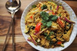 Komosa ryżowa z warzywami – szybki i pełnowartościowy obiad