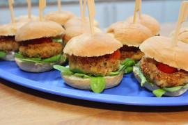 Domowe burgery z CIECIORKI!