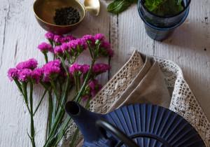 Herbata po arabsku ze świeżą miętą