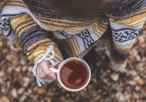 Zimowa herbata z PYŁKIEM PSZCZELIM