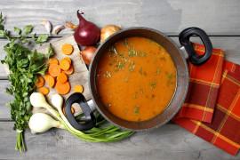 Pomidorowa na kostce rosołowej – zupa gotowa w 5 minut!!!!!!!