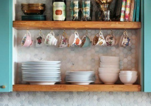 11 ciekawych pomysłów na przechowywanie NACZYŃ  w kuchni