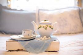 Biała herbata z suszonymi malinami