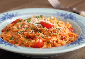 Tani obiad – ryż na ostro z kwaśnym sosem