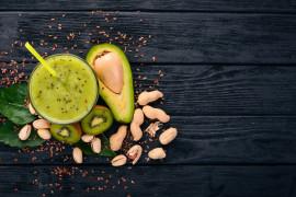 Kiwi + jabłko + awokado, czyli koktajl witaminowy