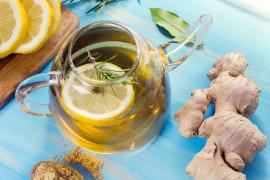 Najlepszy napój imbirowy na ból gardła, przeziębienie, grypę