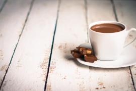 Orzechowa gorąca czekolada – na poprawę humoru ???