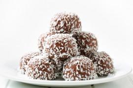 Kokosowo-czekoladowe ciasteczka