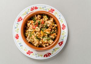 Kasza pęczak z warzywami z patelni – obiad w 20 minut