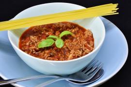 Sos boloński – wersja bardzo mięsna