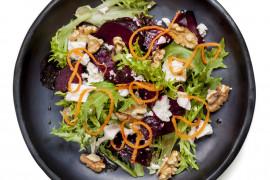 Sałatka obiadowa na 4 sposoby