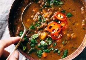 Sycąca zupa z fasoli