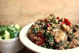 Zdrowy obiad: QUINOA z warzywami