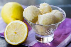 Sorbet z cytryną i limonką