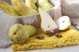 Chipsy gruszkowe z dodatkiem imbiru i cynamonu