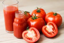 Sok pomidorowy z imbirem