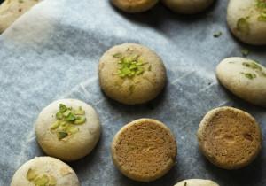Bezy z pistacjami