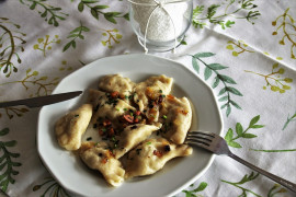 FARSZ DO PIEROGÓW- kasza gryczana + biały ser