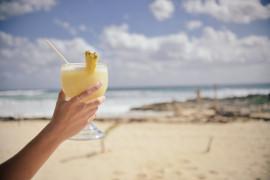 Koktajl ananasowy z miodem