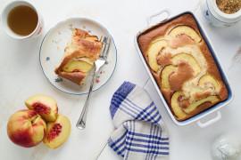 Ekspresowe ciasto z nektarynkami