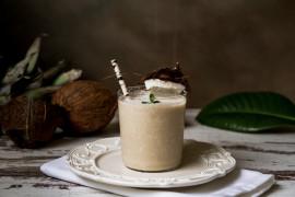 Kokosowa kawa mrożona