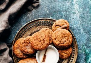 Ciasteczka serowo- cynamonowe- tylko 4 składniki