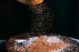 Mocno czekoladowy placek z fasoli czerwonej